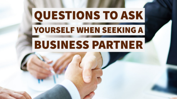 creating a business partnership